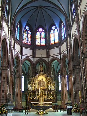 Gliwice St. Peter and Paul quire