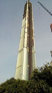 Goldin Finance 117 Unfinished skyscraper in Tianjin, China