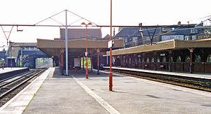 Goodmayes railway station - Goodmayes railway station in 1995