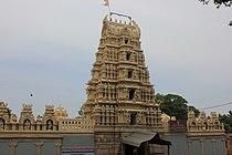 Gopura over entrance in Gunjanarasimhaswamy temple at Tirumakudal Narasipura.JPG