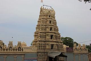 Tirumakudal Narsipur Town in Karnataka, India