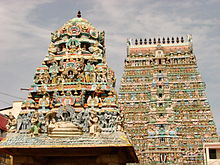 Gopuras in Kumbakonam - India.JPG
