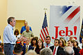 Governor of Florida Jeb Bush at TurboCam, Barrington, New Hampshire on August 16th by Michael Vadon.jpg