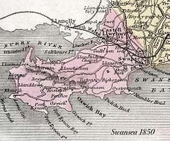 Gower Peninsula 1850 map.jpg