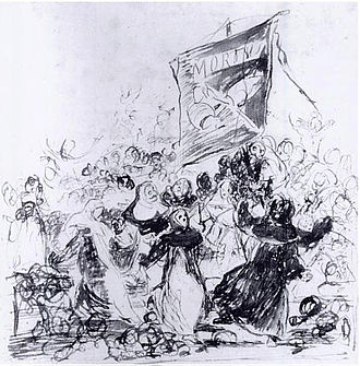 The Burial of the Sardine - Image: Goya El entierro de la sardina
