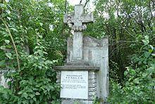 Stadlers Grabstätte auf dem Sankt Marxer Friedhof in Wien (Quelle: Wikimedia)