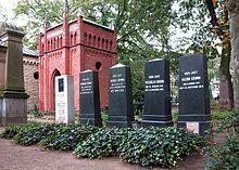 grabsttte von jacob und wilhelm grimm sowie drei kindern wilhelms auf dem alten st matthus kirchhof berlin - Gebruder Grimm Lebenslauf
