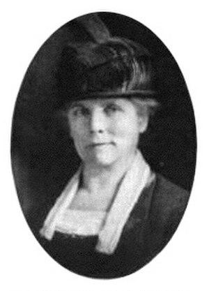 Grace Sturtevant - Iris breeder Grace Sturtevant, 1921.