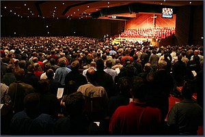 Grace Community Church (California) - Image: Grace Community Church Worship