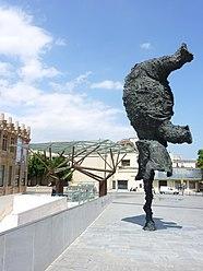 """Miquel Barceló - """"Gran elefant dret"""" (""""Great elephant standing"""") 2009, Barcelona"""