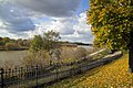 Grand River from the park next to Sgt William Merrifield Armoury on Brant Ave. in Brantford, Ontario - panoramio.jpg