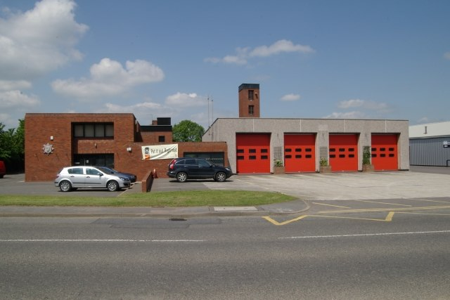 Grantham fire station - geograph.org.uk - 835966