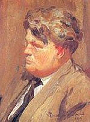 Granville Redmond - Self-portrait (1919)