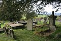 Graves by the yew - geograph.org.uk - 1557313.jpg