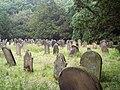 Gravestones at St Gregory's Minster, Kirkdale - geograph.org.uk - 580734.jpg