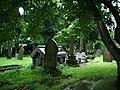 Graveyard, Christ Church, Walmersley, Bury - geograph.org.uk - 528559.jpg