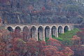 Great Lithgow Zig Zag middle viaduct after 2013 bushfires.JPG