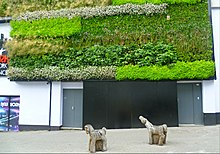 The Green Wall In Sutton High Street, Sutton, Greater London