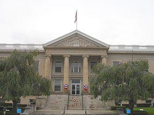 The Greene County Court House in Catskill, NY
