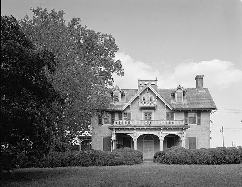 File:Greenlawn, Main House, Route 896 (North Broad Street), 0.6 mile north of Middletown, Middletown vicinity (New Castle County, Delaware).jpg