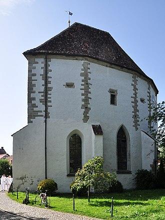 Greifensee Reformed Church - Image: Greifensee Reformierte Kirche (Gallus Kapelle), Im Städtli 2011 09 03 15 45 08