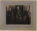 Groupe des trois Cardinaux, XXme Congres Eucharistique a Montreal (HS85-10-22984) original.tif