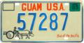 Guam license plate 1983 52787.png