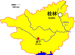 Guilin in Guangxi