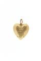 Guldhjärta med Fredrik Adolfs initialer - Livrustkammaren - 97862.tif