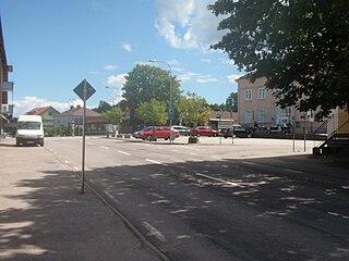 Gullspång Place in Sweden