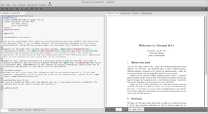 Gummi (software) - Image: Gummi 0.6.1 screenshot