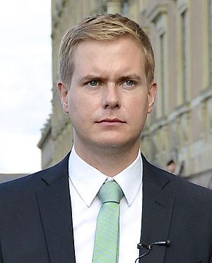 Minister for Education (Sweden) - Image: Gustav Fridolin i okt 2014