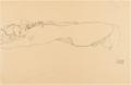 Gustav Klimt - LIEGENDER AKT (RECLINING NUDE).PNG
