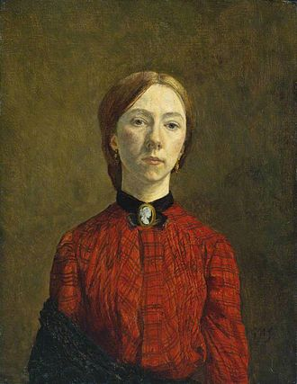 1902 in art - Image: Gwen John Self Portrait