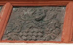 Nils Henriksson - Herr Nils Henriksson's coat of arms