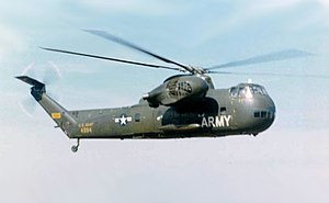Sikorsky CH-37 Mojave - H-37 Mojave of the US Army in flight.