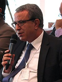 H.E. Mr. Mohamed AUAJJAR (Ambassador, Permanent Representative, Permanent Mission of the Kingdom of Morocco) takes the floor (21267778945) (cropped).jpg