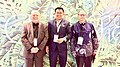 H.E Gary Quinlan (Australian Ambassador) - Tirta Bambangwirawan (House of Representative) - H.E John Charles Berthonet.jpg