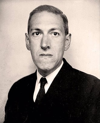 Weird fiction - H. P. Lovecraft, pictured in 1934