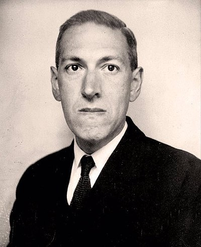 Picture of an author: H. P. Lovecraft