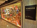 HK 銅鑼灣 CWB 柏寧酒店 The Park Lane Hotel night shopping mall Homeless furniture shop sign Dec-2013 Style House.JPG