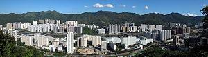 HK Shatin New Town Panorama 201008
