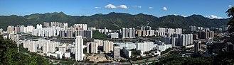 Sha Tin New Town - Image: HK Shatin New Town Panorama 201008