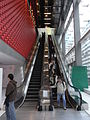 HK TST Isquare mall interior long escalators 2 iFunction lobby hall.JPG