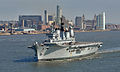 HMS Ark Royal Leaving Liverpool MOD 45151274.jpg