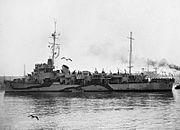 HMS Lawford 1944 IWM A 21817