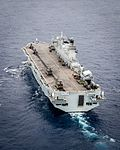 HMS Ocean in the Mediterranean MOD 45161045.jpg