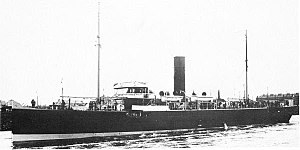 Q-ship - British First World War Q-ship HMS Tamarisk