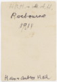 HRH and HAH 1911 verso.png