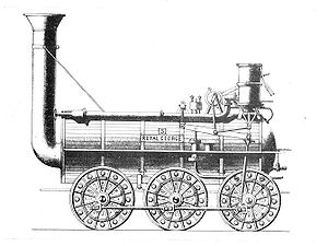 0-6-0 - Hackworth's Royal George of 1827